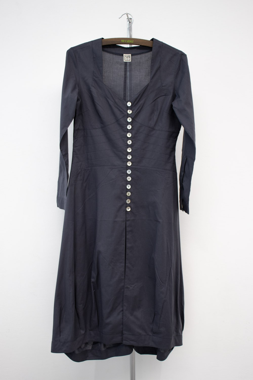 Manteaux voile de coton tissé main -568/60
