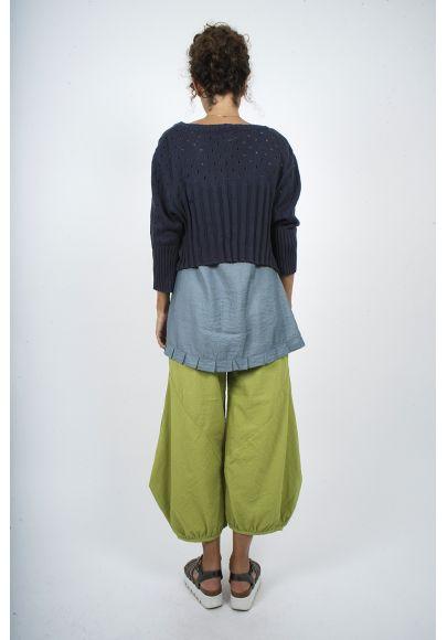 5410-40 Pantalon rayé viscose polyester