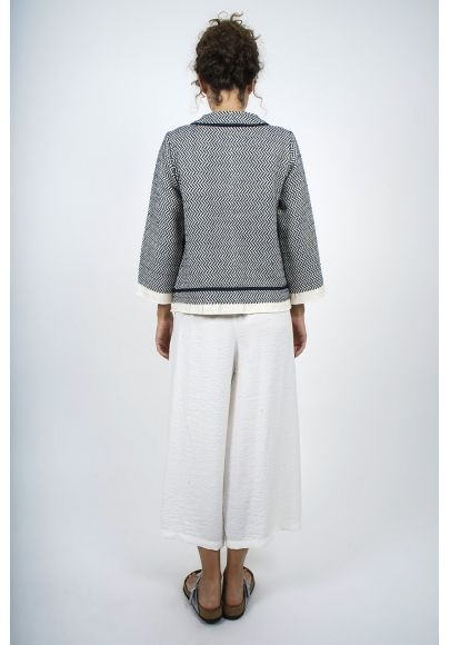 BAFIA- Veste courte tapistry coton