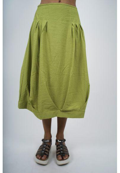 5410-30 Jupe rayée viscose polyester