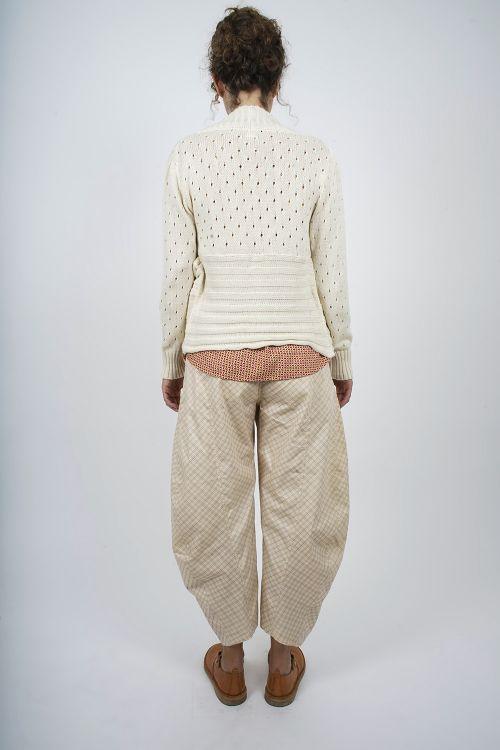 667-40 Pantalon imprimé coton