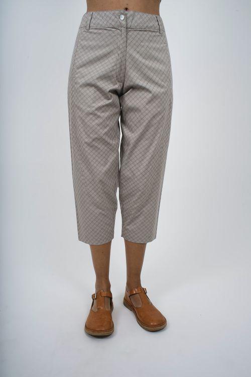680-40 Pantalon imprimé coton