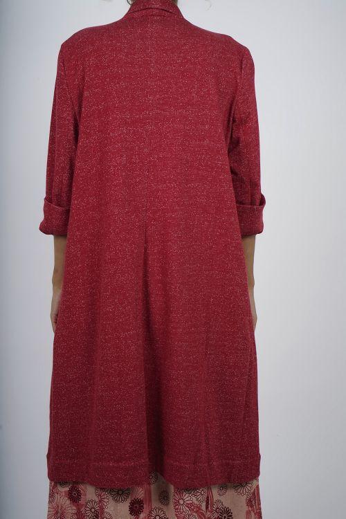 640-60 Veste Manteaux en jersey coton