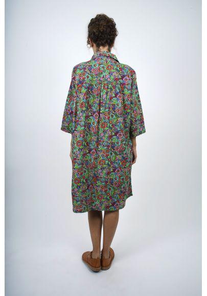680-71 Robe coton imprimée