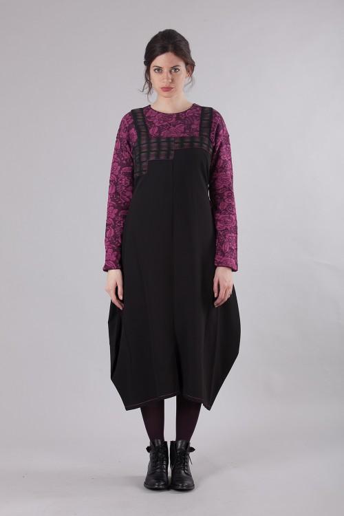 Robe 491/70/Noir-Framboise