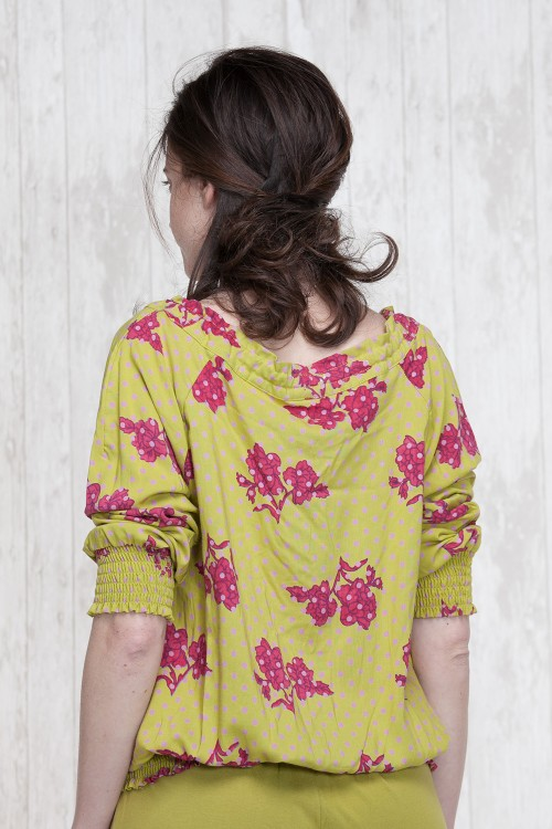 Blouse Olive  662-12