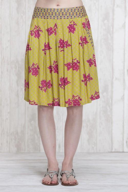 Skirt Oive-Blue  662-30