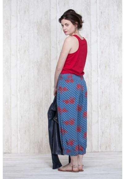 Pantalon Bleu-Olive  662-40