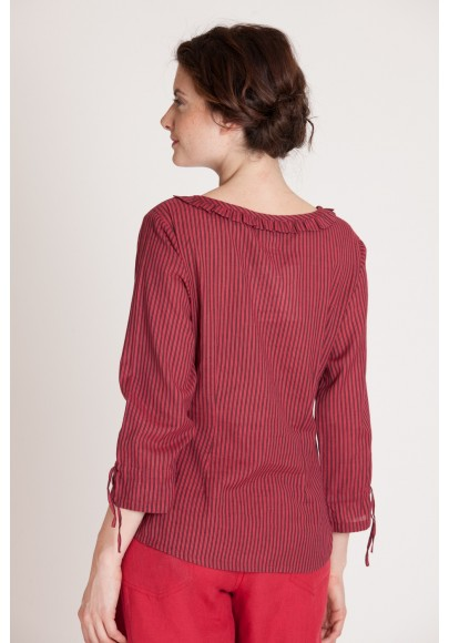 BLOUSE ROUGE 544-12