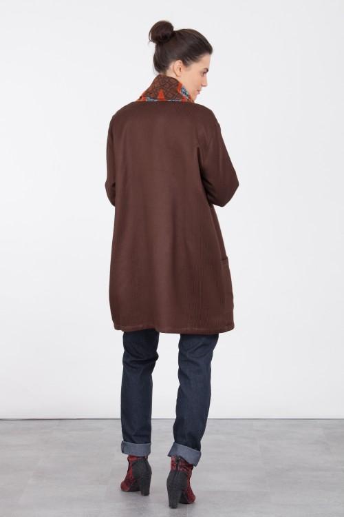 Veste Kimono 419/61 Charbon