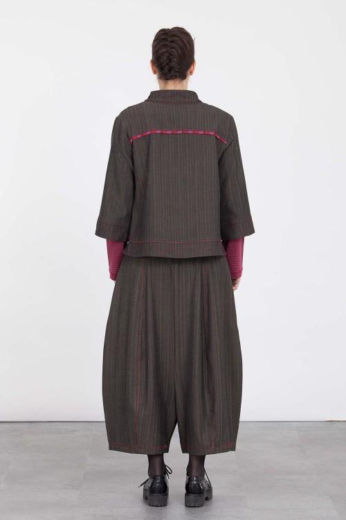 Pantalon 476/41/Cassis