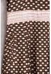 Robe imprimé khaki/rose poudré-E16-73-VI-HQ