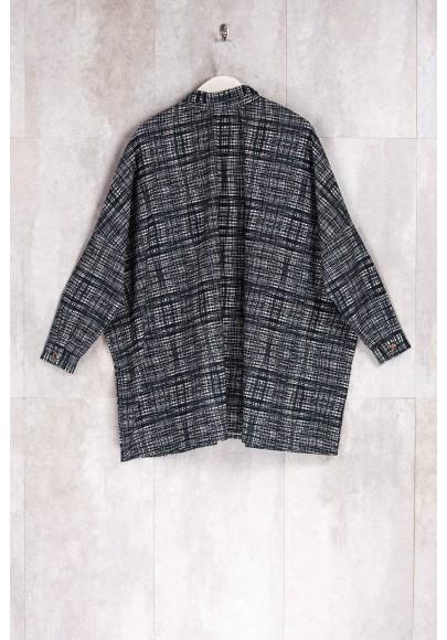 Chemise veste imprimés graphiques-E16-10-CC-A