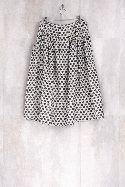 Skirt Dot Print-E16-30-CS-G