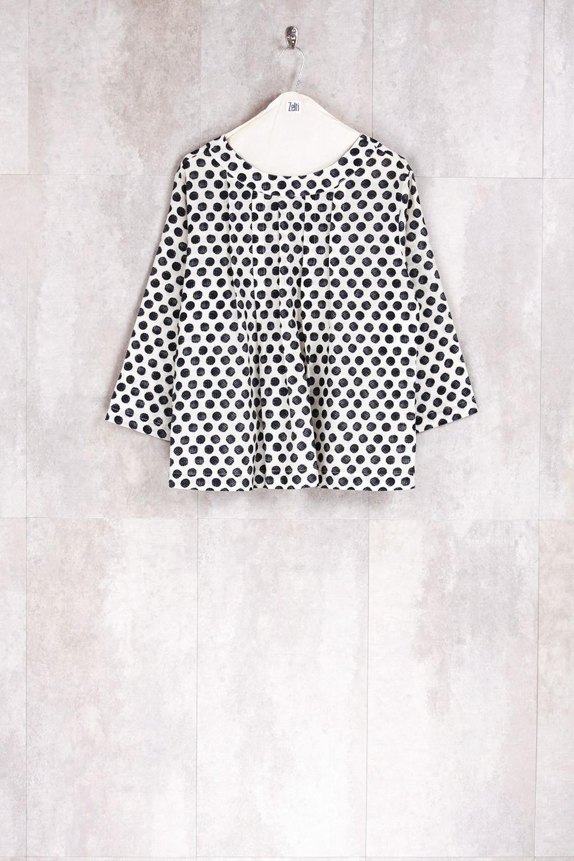 Blouse Dot Print-E16-11-CS-G