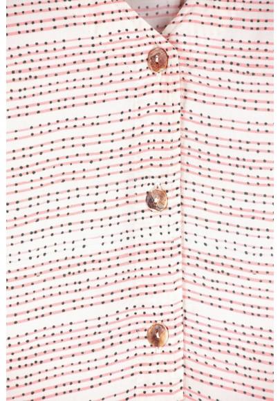 Blouse imprimées graphiques-E16-13-VI-Q