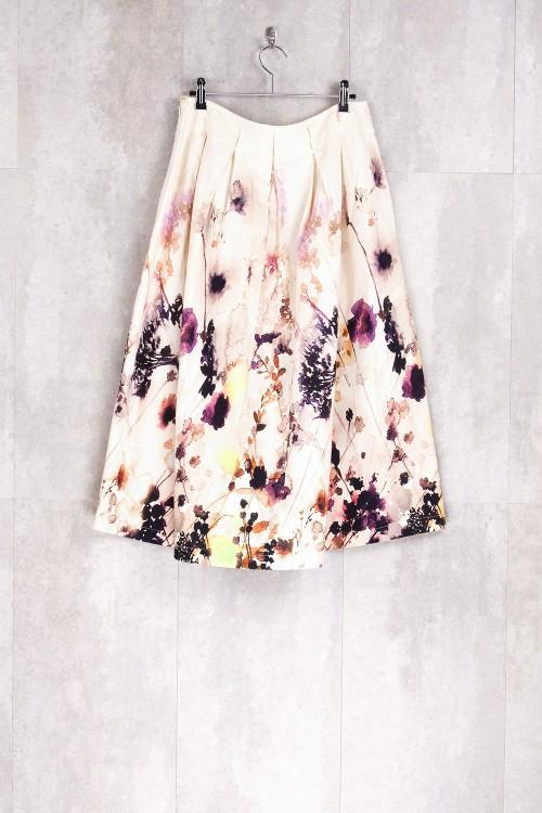 Jupe imprimé fleurs printemps-E16-30-CS-E