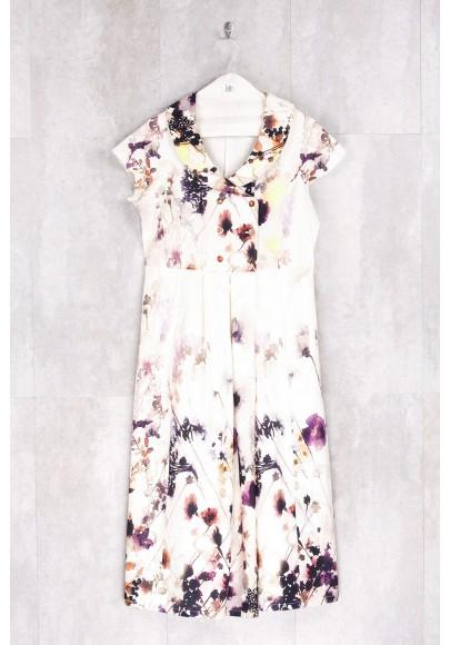 Robe imprimé fleurs printemps-E16-72-CS-E